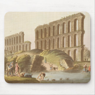 Ruins of the Grand Aqueduct of Ancient Carthage, p Mouse Pad