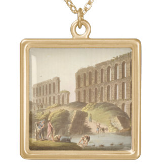 Ruins of the Grand Aqueduct of Ancient Carthage, p Necklace