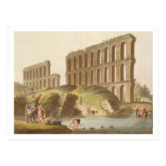 Ruins of the Grand Aqueduct of Ancient Carthage, p Postcard