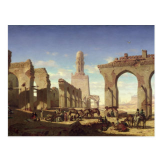 Ruins of the Mosque of the Caliph El Haken Postcard