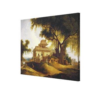 Ruins of the Naurattan, Sasaram, Bihar, 1811 (oil Stretched Canvas Print