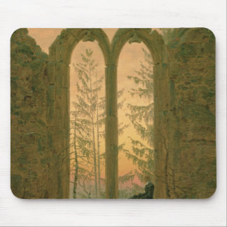 Ruins of the Oybin Monastery  1835-40 Mouse Pad
