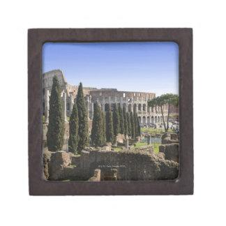 Ruins of the Roman Colosseum from Il Palatino, Keepsake Box