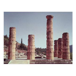 Ruins of the Temple of Apollo Postcard
