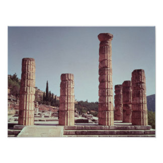 Ruins of the Temple of Apollo Poster