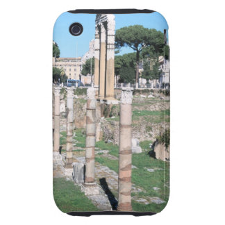 Ruins of the Temple of Castor and Pollux, Italy iPhone 3 Tough Case