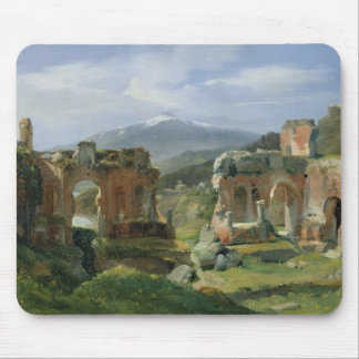Ruins of the Theatre at Taormina Mouse Pad
