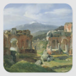 Ruins of the Theatre at Taormina Stickers