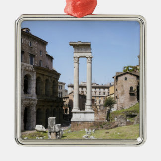 Ruins of Theater of Marcellus Christmas Ornament
