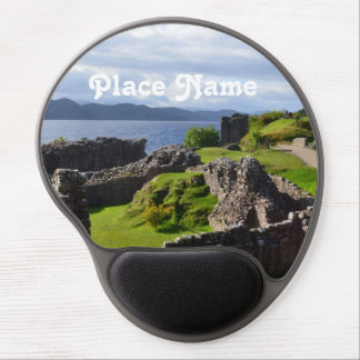 Ruins of Urquhart Castle Gel Mouse Pad