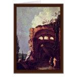 Ruins Of Villa Of Maecenas' In Tivoli By Wilson Greeting Card