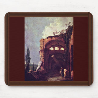 Ruins Of Villa Of Maecenas' In Tivoli By Wilson Mouse Pad
