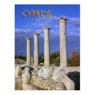 Ruins on Cyprus Postcard
