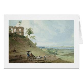 Ruins on Pir Pihar, near Monghy, Bihar, 1790 (w/c Greeting Card