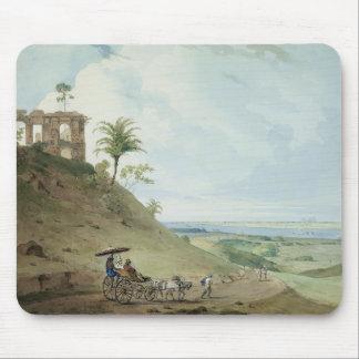 Ruins on Pir Pihar, near Monghy, Bihar, 1790 (w/c Mouse Pad