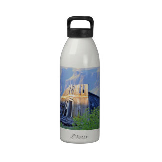 Ruins On The Canyon Rim Water Bottle