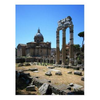 Ruins Postcard