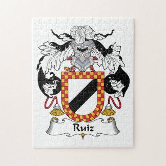 Ruiz Family Crest Puzzle