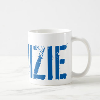 #RUIZIE 11oz Coffee Mug - Blue