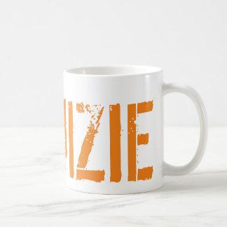 #RUIZIE 11oz Coffee Mug - Orange