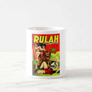 Rulah and a Big Scary Lion Coffee Mug
