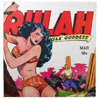 Rulah and the Big Ape Napkin