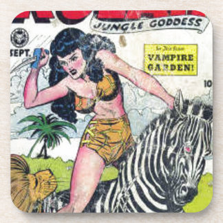Rulah, Jungle Goddess Beverage Coaster