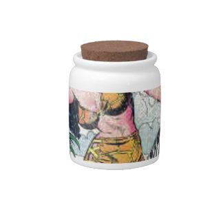 Rulah, Jungle Goddess Candy Jars