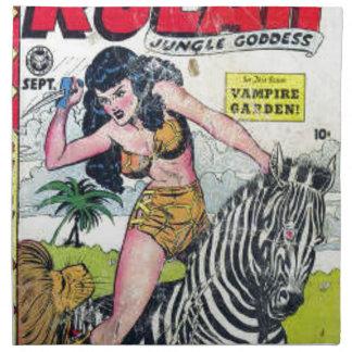 Rulah, Jungle Goddess Cloth Napkin