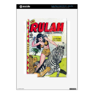 Rulah, Jungle Goddess Decals For iPad 3