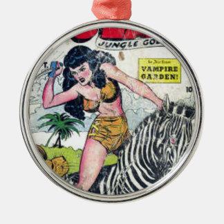 Rulah, Jungle Goddess Metal Ornament