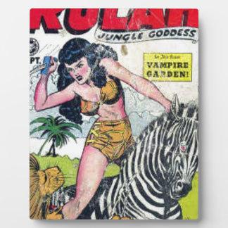 Rulah, Jungle Goddess Plaque