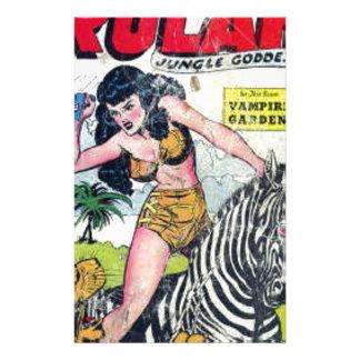 Rulah, Jungle Goddess Stationery
