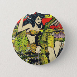Rulah-Vintage Comic Book Button