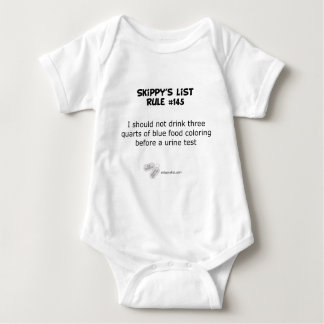 Rule #145 - light tee shirt