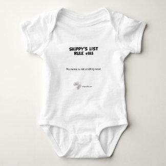 Rule #185 - light shirt