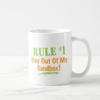 Rule #1 Stay Out Of My Sandbox! Mug