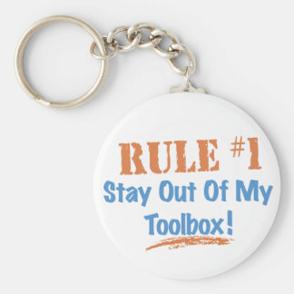 Rule #1 Stay Out Of My Tool Box Key Chains