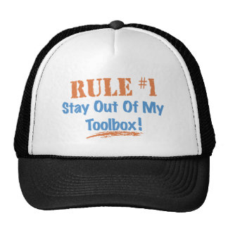 Rule #1 Stay Out Of My Tool Box Trucker Hat