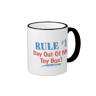 Rule #1 Stay Out Of My Toy Box Coffee Mugs