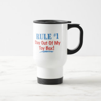 Rule #1 Stay Out Of My Toy Box Mug