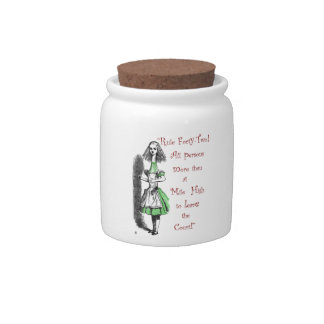 Rule 42! candy jar
