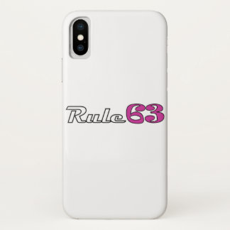 Rule 63 IPhone Cover