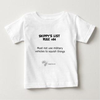 Rule #84 - light infant t-shirt