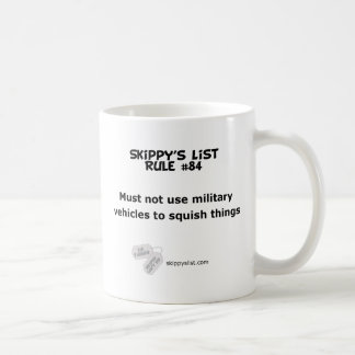 Rule #84 mug
