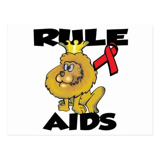 Rule AIDS Postcard