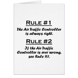 Rule Air Traffic Controller Card