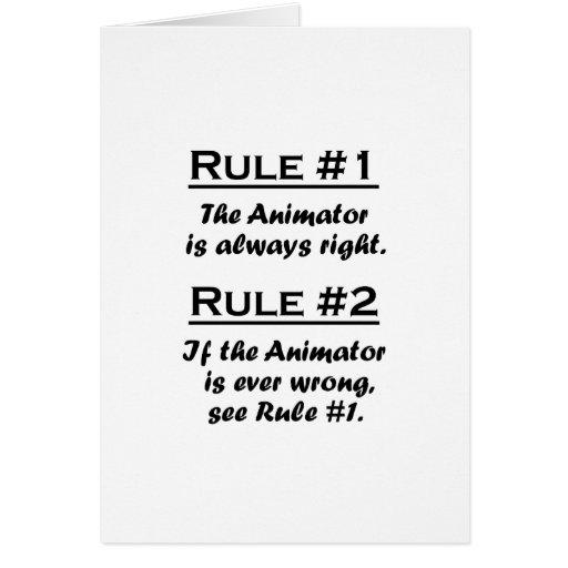 Rule Animator Stationery Note Card
