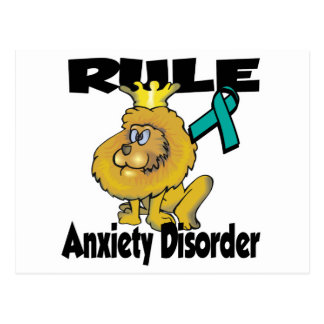 Rule Anxiety Disorder Postcard