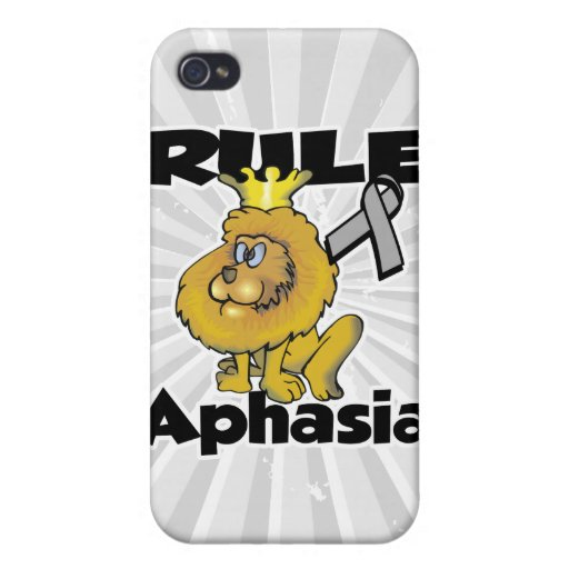 Rule Aphasia Covers For iPhone 4